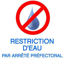 RESTRICTION D'EAU