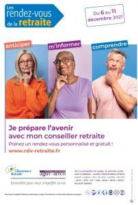 RDV droits à la retraite du 6 au 11 décembre