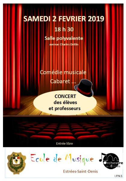 Concert Comédie Musicale, Cabaret...