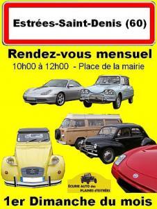 Rendez-vous mensuel autos et motos anciennes