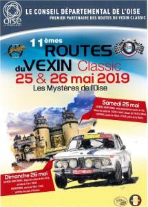 11ème Routes du Vexin 25 et 26 mai