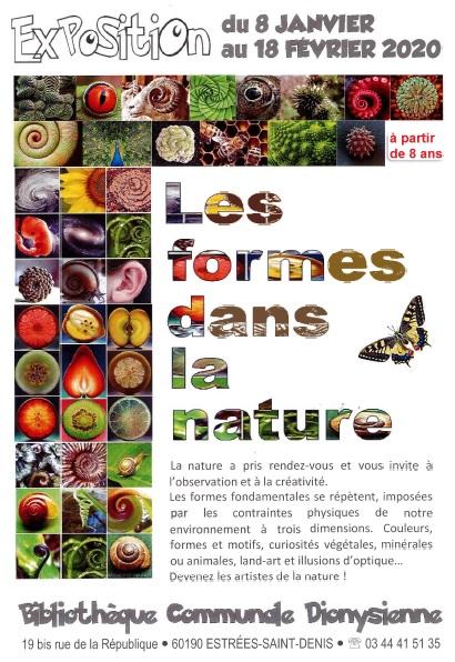 Exposition les formes dans la nature