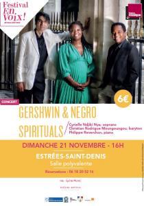 Concert GEORGE GERSHWIN & NEGRO SPIRITUALS