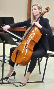 Concert des professeurs et des grands élèves de l'école municipale de musique accompagnés par le Quatuor à cordes de Picardie