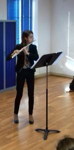 Concert Flûte et Piano pour l'école de musique